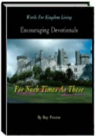 Words For Kingdom Living: Encouraging Devotionals by Roy Proctor
